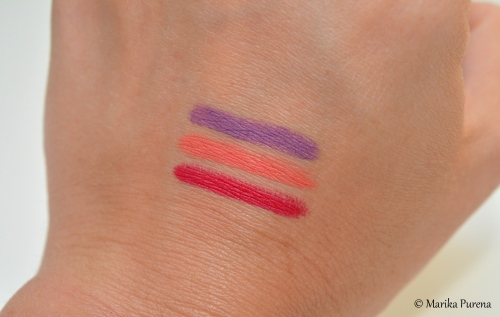 KIKO Milano Smart Lip Pencil swatches